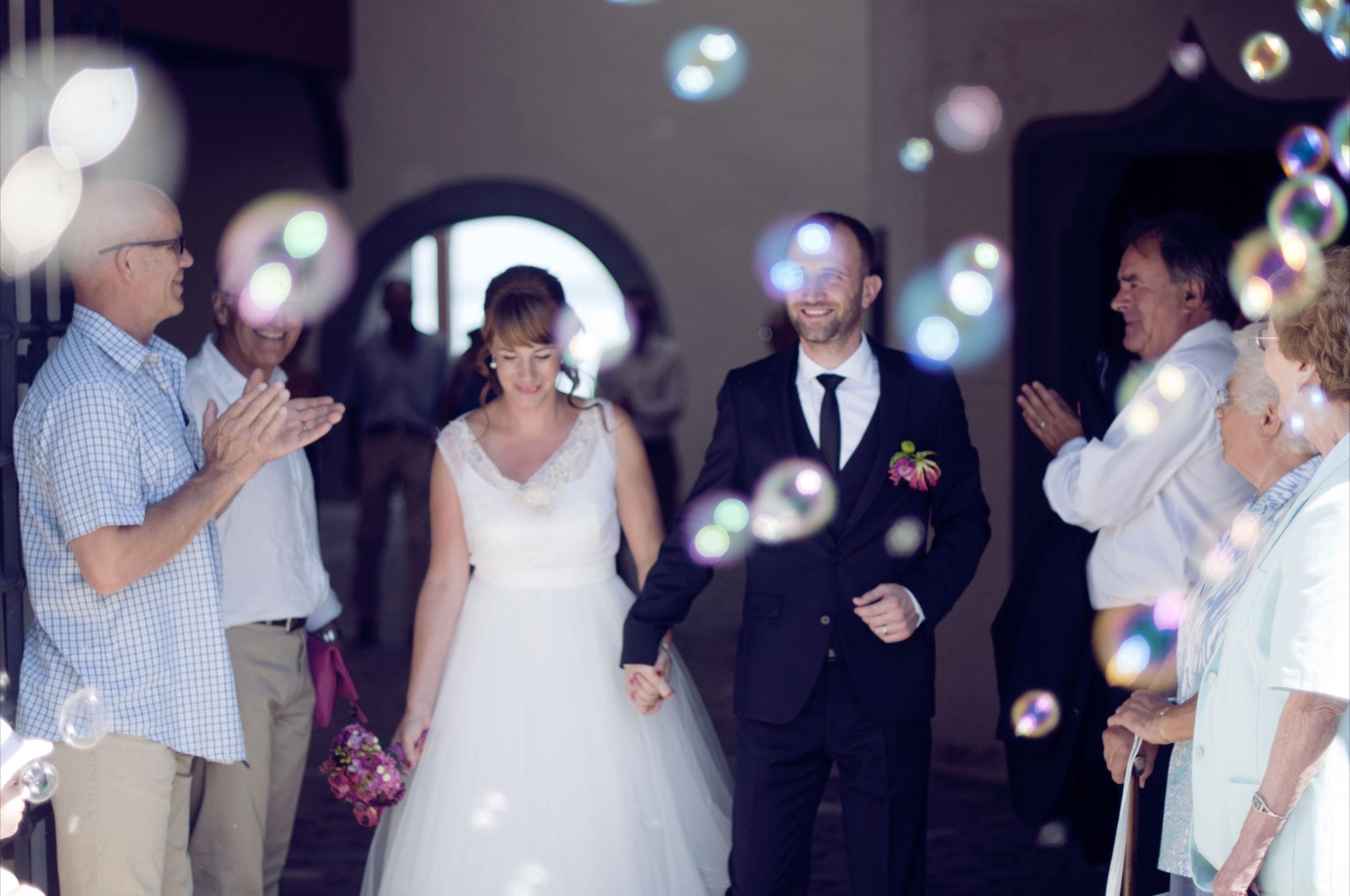 Mariées et nous espérons