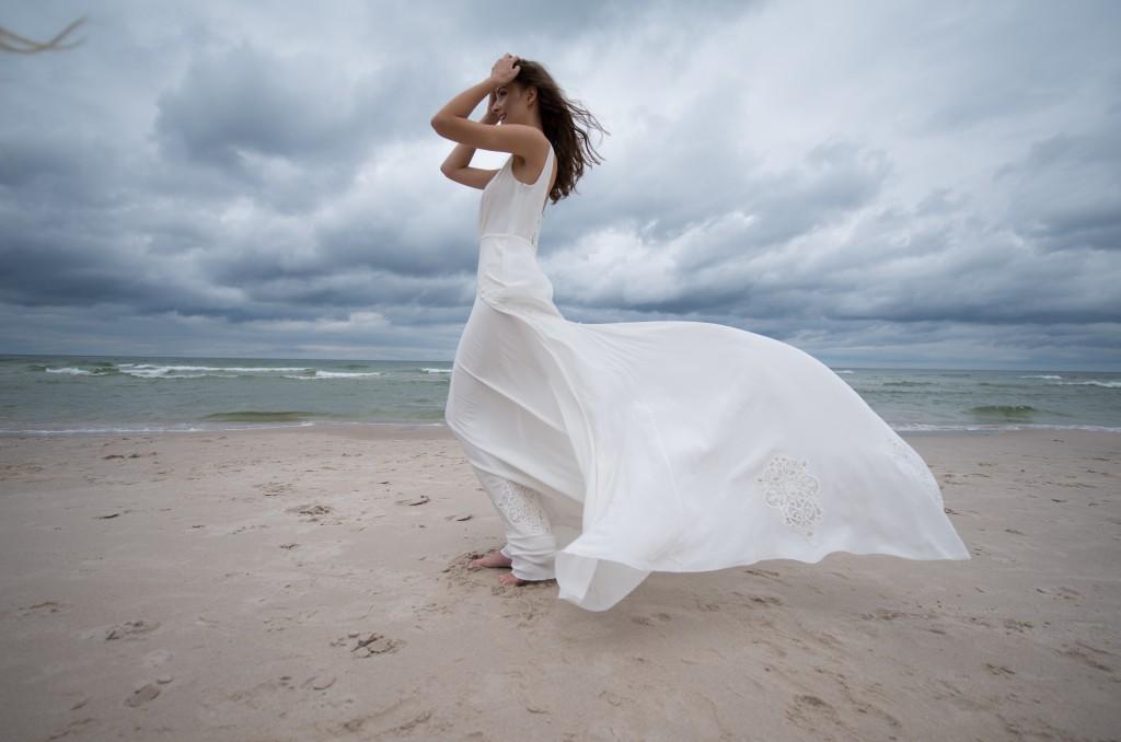 blanche, plage, mariage, classy, elegante