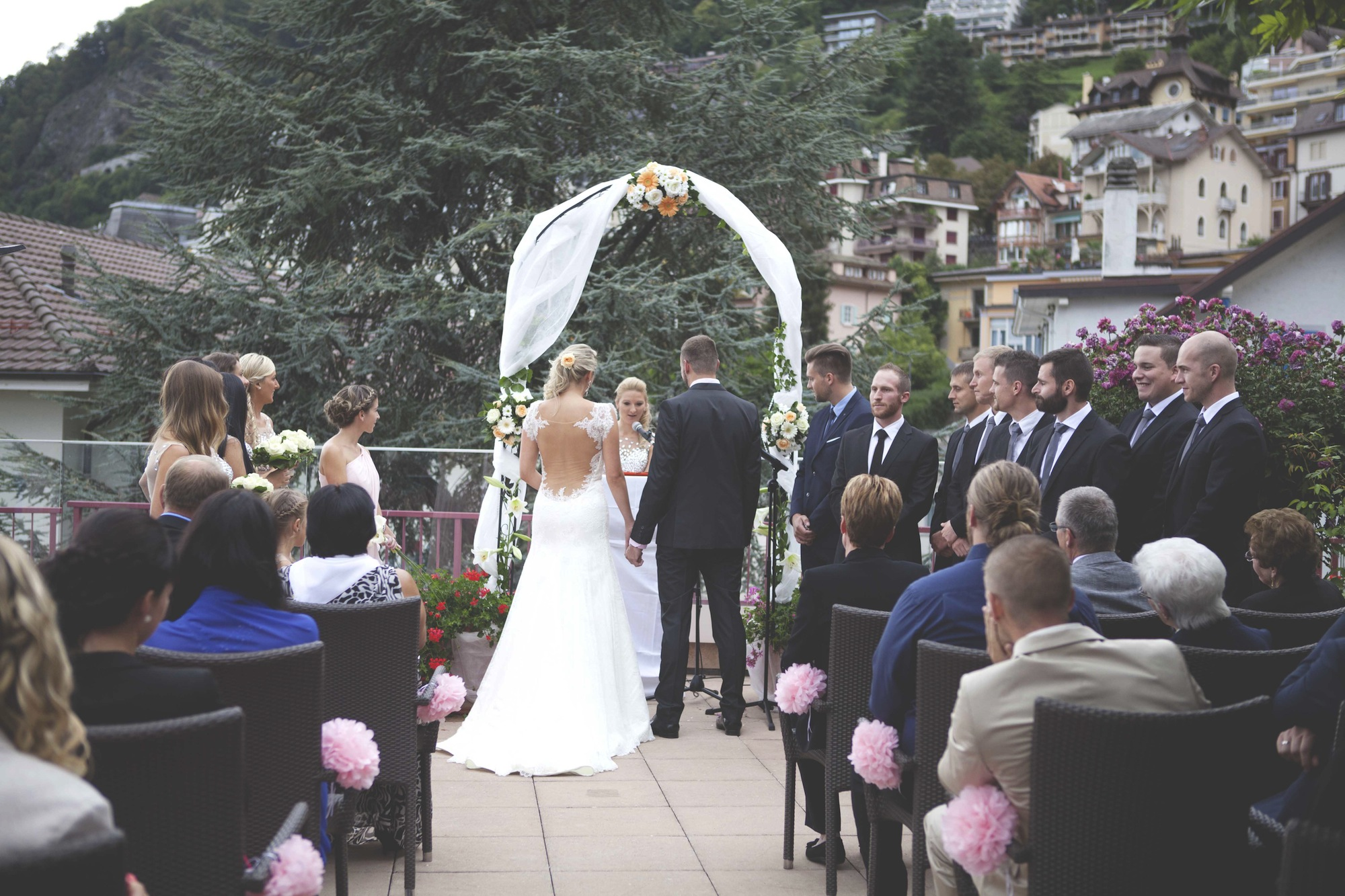 Wedding ceremony Montreux