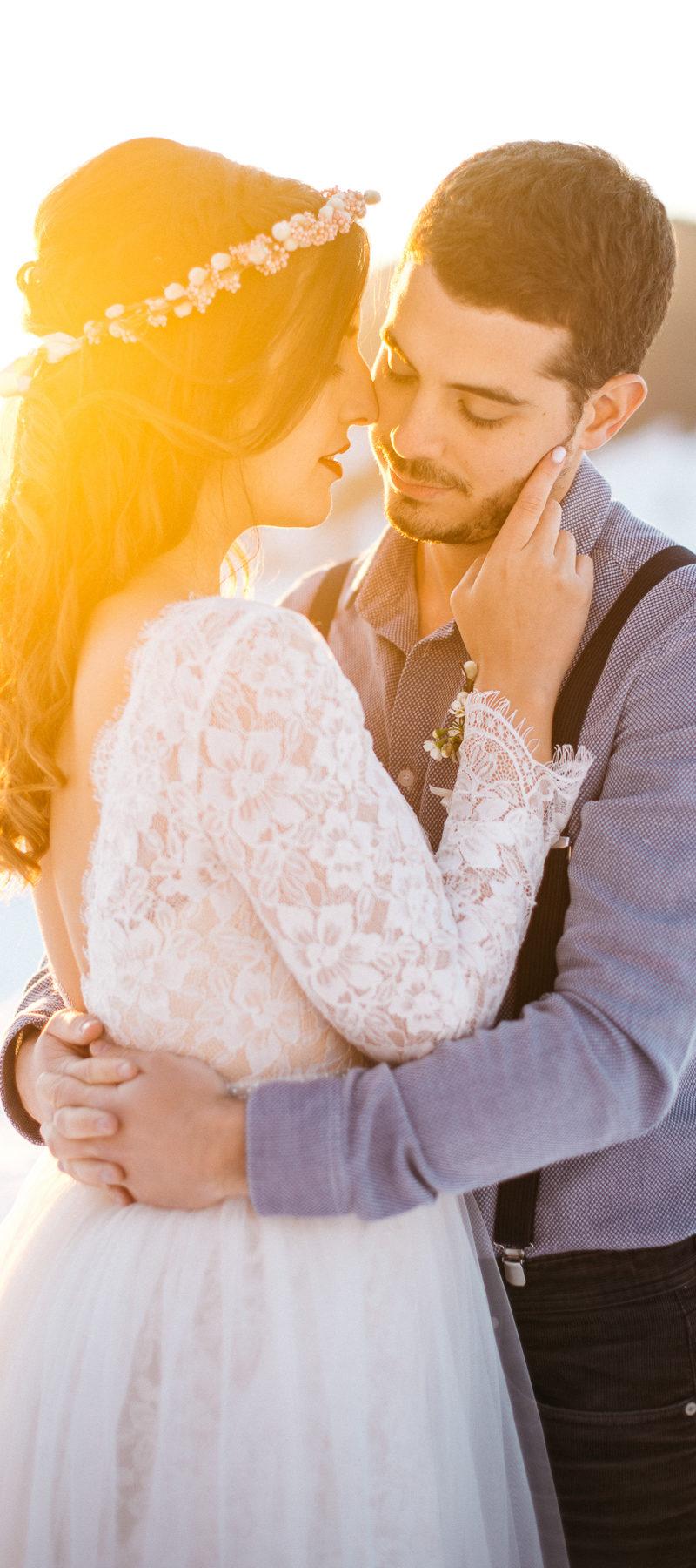Magnifique Maira et Yolan – Mariage Hiver a la Suisse